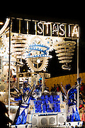 Frostasia by Lime Kiln Carnival Club at Bridgwater Carnival 2009. Ninth in the Tableau Cart Local Class.