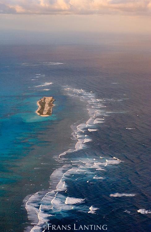 Tern Island (aerial), Hawaiian Leeward Islands