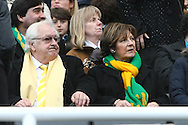 Picture by Paul Chesterton/Focus Images Ltd.  07904 640267.18/03/12.Norwich City's Joint Majority Shareholder Delia Smith before the Barclays Premier League match at St James' Park Stadium, Newcastle.