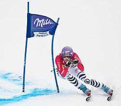 11.03.2010, Kandahar Strecke Damen, Garmisch Partenkirchen, GER, FIS Worldcup Alpin Ski, Garmisch, Lady Giant Slalom, im Bild Riesch Maria, ( GER, #11 ), Ski Head, EXPA Pictures © 2010, PhotoCredit: EXPA/ J. Groder / SPORTIDA PHOTO AGENCY