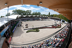 Overview arena<br /> European Championship Dressage - Rotterdam 2011<br /> © Dirk Caremans