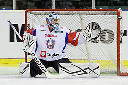 Andrej Hocevar of Slovenia during friendly ice-hockey match between Slovenia and Switzerland, on December 14, 2011 at Hala Tivoli, Ljubljana, Slovenia. (Photo By Matic Klansek Velej / Sportida)