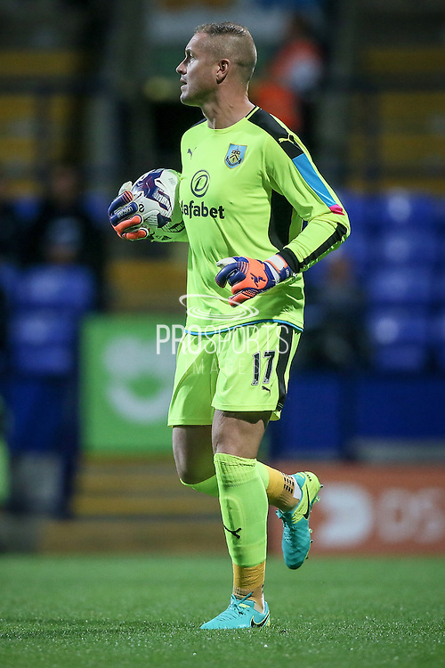 Paul Robinson (Burnley) during the Pre-Season Friendly match between Bolton Wanderers and Burnley at the Macron Stadium, Bolton, England on 26 July 2016. Photo by Mark P Doherty.