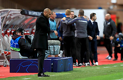 AS Monaco's Manager Thierry Henry appears dejected as Club Brugge's Hans Vanaken (not in frame) scores the second goal of the game against them
