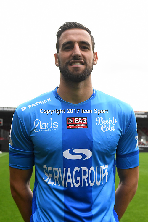 Marc Aurele Caillard during photocall of En Avant Guingamp for new season 2017/2018 on September 7, 2017 in Guingamp, France. (Photo by Philippe Le Brech/Icon Sport)