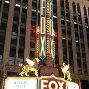 The Detroit Fox is the largest of the Fox Theaters. Built in 1928 for William Fox, founder of 20th Century Fox, it was the first movie palace to have live sound.