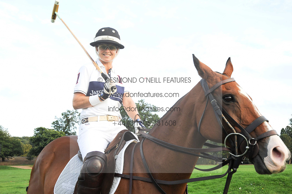 The MARCHIONESS OF MILFORD-HAVEN at the 4th Jaeger-LeCoultre Polo Cup in aid of the James Wentworth-Stanly Memorial Fund held at Coworth Park, Ascot, Berkshire on 10th September 2010.