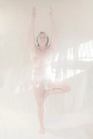 Yoga in a different light.<br />  ©2015 Karen Bobotas Photographer