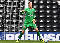 """Southampton goalkeeper Alex McCarthy during a pre season friendly match at Pride Park, Derby. PRESS ASSOCIATION Photo. Picture date: Saturday July 21, 2018. Photo credit should read: Anthony Devlin/PA Wire. EDITORIAL USE ONLY No use with unauthorised audio, video, data, fixture lists, club/league logos or """"live"""" services. Online in-match use limited to 75 images, no video emulation. No use in betting, games or single club/league/player publications."""