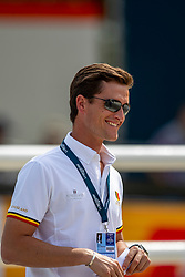 PHILIPPAERTS Olivie (BEL)<br /> Rotterdam - Europameisterschaft Dressur, Springen und Para-Dressur 2019<br /> Parcoursbesichtigung<br /> Longines FEI Jumping European Championship - 1st part - speed competition against the clock<br /> 1. Runde Zeitspringen<br /> 21. August 2019<br /> © www.sportfotos-lafrentz.de/Stefan Lafrentz