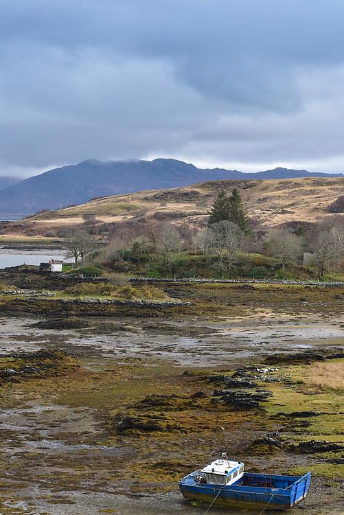 Portrait seascape Skye