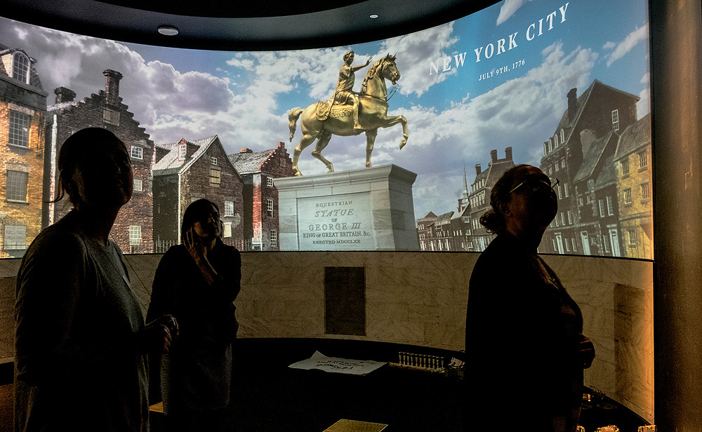 Thursday,  February 23, 2017, The Museum of the American Revolution Here, New York 1776  ED HILLE . Staff Photographer