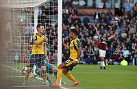 Football - 2016 / 2017 Premier League - Burnley v Arsenal at Turf Moor<br /> <br /> Laurent Koscielny of Arsenal at the winning goal <br /> <br /> COLORSPORT/LYNNE CAMERON