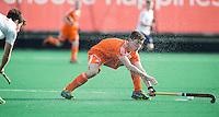 ROTTERDAM -  Samuel van Huiden  (Neth)   Test Match Hockey : Netherlands Boys U18  v England U18 . COPYRIGHT KOEN SUYK