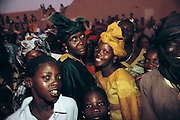 Ramadan is the month for fasting, prayer, weddings, and other social activities. At the end of Ramadan, the entire village of Kouakourou, Mali, celebrated with a community dance. Material World Project.