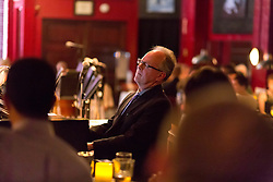 Faculty trio with David Deacon-Joyner on piano, perform before the PLU Jazz Ensemble takes the stage at Tula's Jazz Club in Seattle on Sunday, May 3, 2015. (Photo: John Froschauer/PLU)