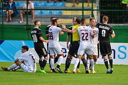 football match between NS Mura and NK Triglav Kranj in 1st Round of Prva liga Telekom Slovenije 2018/19, on July 21, 2018 in Mestni stadion Fazanerija, Murska Sobota , Slovenia. Photo by Mario Horvat / Sportida