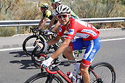 Rudy Molard (FRA - Groupama - FDJ) red jersey, during the UCI World Tour, Tour of Spain (Vuelta) 2018, Stage 7, Puerto Lumbreras - Pozo Alcon 185,7 km in Spain, on August 31th, 2018 - Photo Luis Angel Gomez / BettiniPhoto / ProSportsImages / DPPI