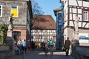Altstadt, Bensheim, Bergstraße, Hessen, Deutschland | old town, Bensheim, Bergstrasse, Hesse, Germany