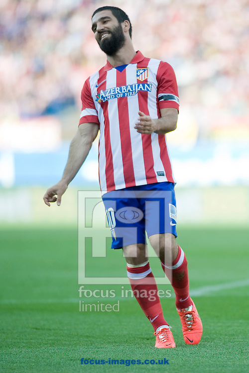 Arda Turan of Atl&eacute;tico Madrid during the La Liga match at Vicente Calder&oacute;n Stadium, Madrid<br /> Picture by Marcos Calvo Mesa/Focus Images Ltd +34 654142934<br /> 11/05/2014