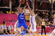 Vannes 17 Giugno 2013 <br /> Eurobasket Women 2013<br /> Italia - Russia<br /> Nella foto: giorgia sottana<br /> Foto Ciamillo