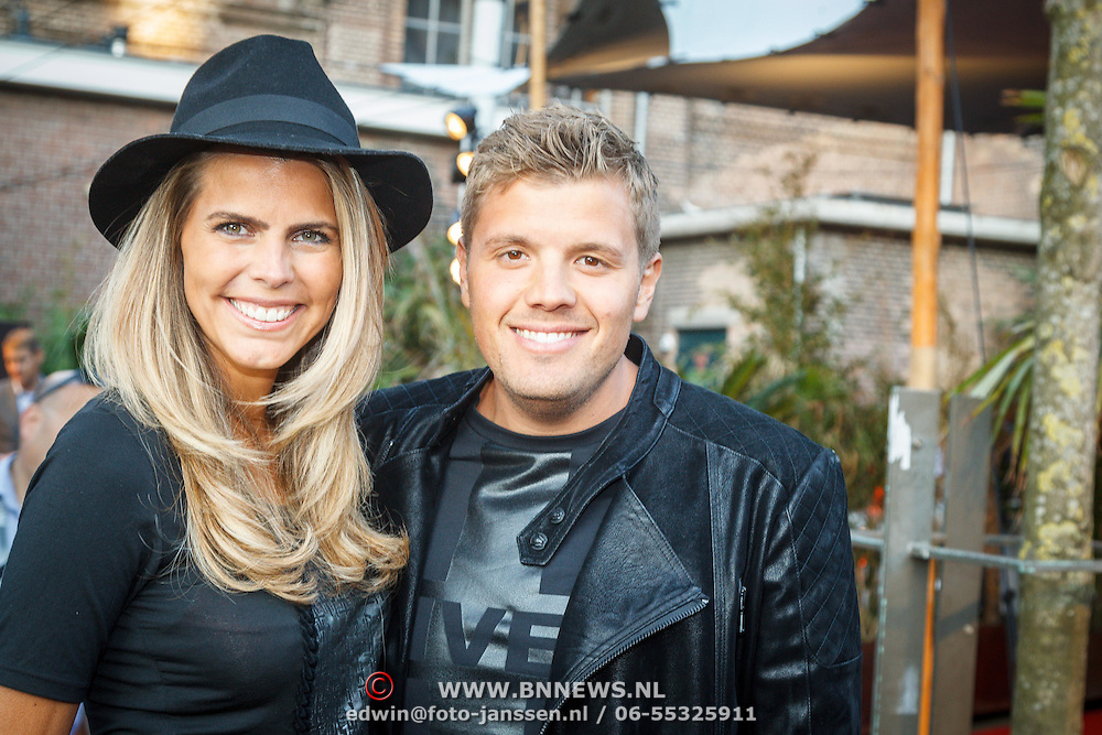 NLD/Amsterdam/20150709 - AFW2015 - show Monique Collignon, Kim Kotter en partner Jaap Reesema