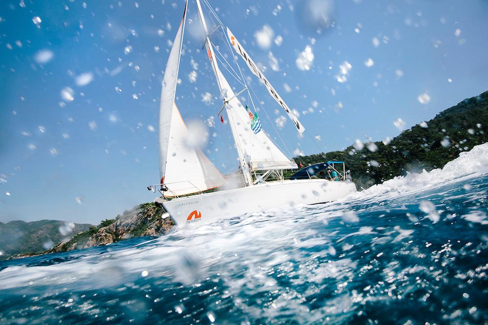 Yachting at Neilson's Adakoy Beachclub, Turkey
