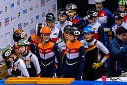 12-01-2018 DUI: ISU European Short Track Championships 2018 day 1, Dresden<br /> Nederland relay vrouwen met Jorien ter Mors NED #141, Suzanne Schulting NED #7