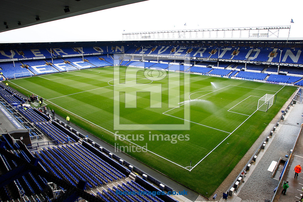 General view of Everton's ground, Goodison Park, Liverpool.<br /> Picture by Michael Sedgwick/Focus Images Ltd +44 7900 363072<br /> 20/04/2014