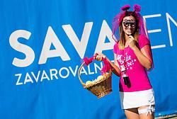 Bride Sara Kobold during ATP Challenger Zavarovalnica Sava Slovenia Open 2017, on August 12, 2017 in Sports centre, Portoroz/Portorose, Slovenia. Photo by Vid Ponikvar / Sportida