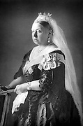 Queen Victoria (1819-1901) From photograph published c1890. Woodburytype