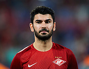 SEVILLE, SPAIN - NOVEMBER 01:  Serdar Tasci of FC Spartak Moskva looks on priot to the UEFA Champions League group E match between Sevilla FC and Spartak Moskva at Estadio Ramon Sanchez Pizjuan on November 1, 2017 in Seville, Spain.  (Photo by Aitor Alcalde Colomer/Getty Images)