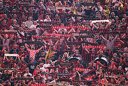 July 15, 2018 - Atlanta, GA, USA - Atlanta United fans set a new MLS record attendance of 72,243 against the Seattle Sounders on Sunday, July 15, 2018, in Atlanta, Ga. (Credit Image: © Curtis Compton/TNS via ZUMA Wire)
