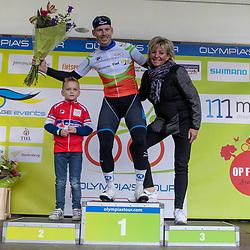20-10-2019: Wielrennen: OlympiaTour: Tiel<br />Etappe winnaar Jason van Dalen