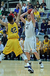 21 February 2017:  Trevor Seibring during an College men's division 3 CCIW basketball game between the Augustana Vikings and the Illinois Wesleyan Titans in Shirk Center, Bloomington IL