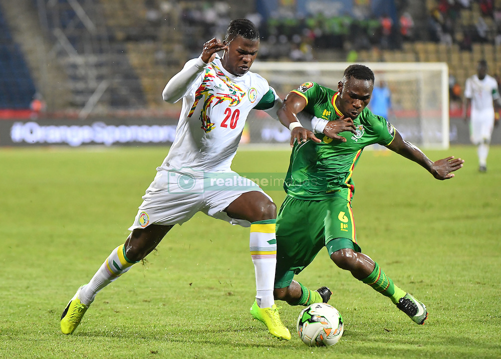 January 20, 2017 - GABON - K. Balde Dia - O. Bhasera - Senegal vs Zimbawe (Credit Image: © Panoramic via ZUMA Press)