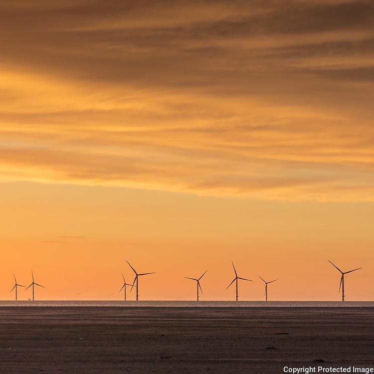 Burbo Bank Offshore Wind Farm, Hoylake, Merseyside.