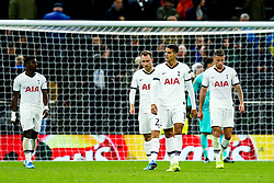 Erik Lamela of Tottenham Hotspur looks dejected after Bayern Munich go 2-6 up - Rogan/JMP - 01/10/2019 - FOOTBALL - Tottenham Hotspur Stadium - London, England - Tottenham Hotspur v Bayern Munich - UEFA Champions League Group B.