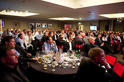 CARDIFF, WALES - Friday, May 18, 2012: Guests during an FAW Coaching course at the Glamorgan Sports Park. (Pic by David Rawcliffe/Propaganda)