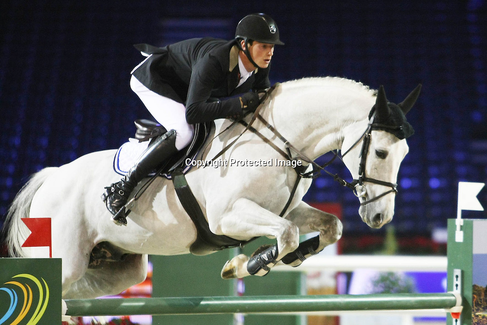 Equitation : Gucci Masters - 03.12.2010 - Prix Le Figaro CSI5 - Daniel Deusser (GER/sur AD Untouchable) *** Local Caption *** 00042820