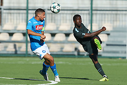 November 1, 2017 - Naples, Italy - Ayotomiwa Dele-Bashiru of Manchester City during the UEFA Youth League Group F match between SSC Napoli and Manchester City on November 1, 2017 in Naples, Italy. (Credit Image: © Matteo Ciambelli/NurPhoto via ZUMA Press)