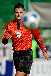 Referee Damir Skomina at 13th Round of Prva Liga football match between NK Olimpija and Maribor, on October 17, 2009, in ZAK Stadium, Ljubljana. Maribor won 1:0. (Photo by Vid Ponikvar / Sportida)
