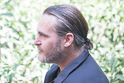 April 27, 2018 - Rome, Italy - American actor Joaquin Phoenix..Photocall in Rome to present the film ''A Beautiful Day' (Credit Image: © Matteo Nardone/Pacific Press via ZUMA Wire)