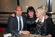 BILLY ZANE; SOPHIA BEDDOW; AMANDA ELIASCH, Liberatum Cultural Honour  for John Hurt, CBE in association with artist Svetlana K-Lié.  Spice Market, W London - Leicester Square