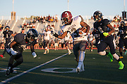 Greece Arcadia's Robert Smith rushes during a game at Eastridge High School on Friday, September 2, 2016.