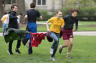 Scav Olympics at University of Chicago <br /> Saturday, May 12, 2018.<br /> Pizza Rat King race
