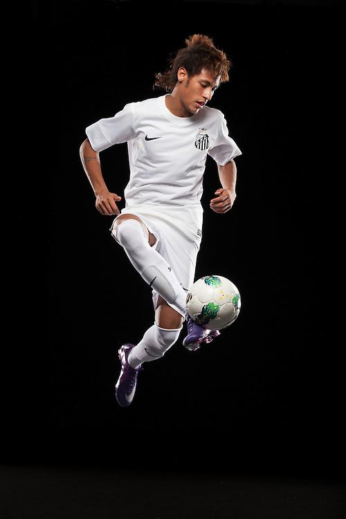 Santos, Brazil - January 25, 2012 : Neymar shot at Santos' training site.   (Photo:Caio Guatelli)