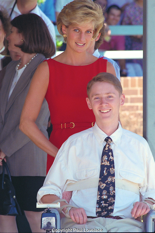Princess Diana during her Sydney visit in 1996. . An instant sale option is available where a price can be agreed on image useage size. Please contact me if this option is preferred.