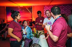 Coquetel de encerramento dos organizadores  da 20ª edição do Planeta Atlântida, que ocorreu nos dias 29 e 30 de janeiro de 2016, na SABA, na praia de Atlântida, no Litoral Norte gaúcho.  Foto: Carlos Ferrari / Agência Preview