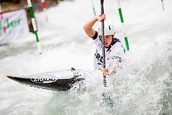 Maialen Chourraut (ESP) in Half finals during Day 4 of 2017 ECA Canoe Slalom European Championships, on June 3, 2017 in Tacen, Ljubljana, Slovenia. Photo by Ziga Zupan / Sportida